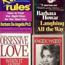 OBSESSIVE LOVE LOT OF 4 BOOKS