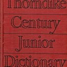THORNDIKE CENTURY JUNIOR DICTIONARY 1942