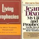 MY LIFE & PROPHECIES LIVING PROPHECIES LOT OF 2 BOOKS