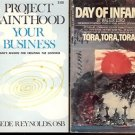 DAY OF INFAMY TORA TORA TORA LOT OF 2 BOOKS