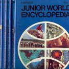 HARVER JUNIOR WORLD ENCYCLOPEDIA LOT OF 5 BOOKS