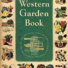 SUNSET WESTERN GARDEN BOOK 1954