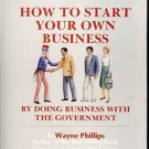HOW TO START YOUR OWN BUSINESS 1988