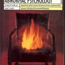 ABNORMAL PSYCHOLOGY BY TIMOTHY W. COSTELLO & JOSEPH T COSTELLO 1992