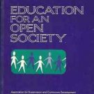 EDUCATION FOR AN OPEN SOCIETY