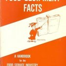 FOOD EQUIPMENT FACTS A HANDBOOK FOR THE FOOD SERVICE IN