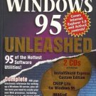 WINDOWS 95 UNLEASHED 95 OF THE HOTTEST SOFTWARE UTILITIES 1996