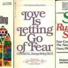 LOVE IS LETTING GO OF FEAR LOT OF 3 BOOKS
