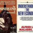 THE BUSINESS END OF GOVERNMENT  ECONOOMIC LOT OF 2 BOOK