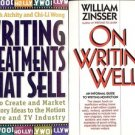 ON WRITING WELL & WRITING TREATMENT THAT SELL LOT OF 2 BOOKS