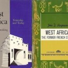 WEST AFRICA FRENCH SPEAKING THE FORMER FRENCH STATES LOT OF 2 BOOKS
