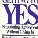 GETTING TO YES negotiation agreement without giving in