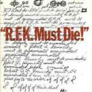 R.F.K MUST DIE! ROBERT BLAIR KAISER 1970