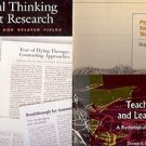 PSYCHOLOGY FOR TEACHING TEACHING & PSYCHOLOGICAL PERSPECTIVE LOT OF 3 BOOKS
