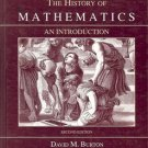 THE HISTORY OF MATHEMATICS AN INTRODUCTION 2ND EDITION BY DAVID M. BURTON