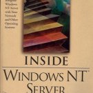 INSIDE WINDOWS NT SERVER SUCCESSFULLY INTEGRATE WINDOWS NT SERVER 1995