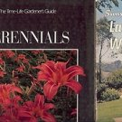 LANDSCAPING FOR WESTERN LIVING PERENNIALS LOT OF 2 BOOKS