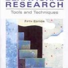 A PRACTICAL GUIDE TO BEHAVIORAL RESERACH TOOLS & TECHNI