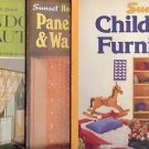 CHILDREN FURNITURE LOT OF 3 BOOKS