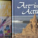ART IN ACTION LOT OF 2 BOOKS