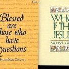 BLESSED ARE THOSE WHO HAVE QUESTIONS LOT OF 2 BOOKS