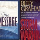 STORM WARNING NEW TESTAMENT LOT OF 2 BOOKS