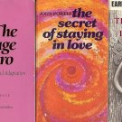 THE SECRET OF STAYING IN LOVE SECRET OF BEING LOVED LOT OF 3 BOOK