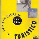 TURISTICO DIRECTORIO TELEFONICO NACIONAL 1993 1994