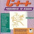 C++ PROGRAMMING FOR WINDOWS BY ANTHONY PORTER 1993