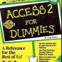 ACCESS 2 FOR DUMMIES BY SCOTT PALMER A REFERENCE FOR THE REST OF US