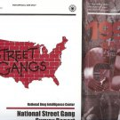 STREET GANGS NATIONAL STREET GANG SURVEY REPORT LOT OF 2 BOOKS
