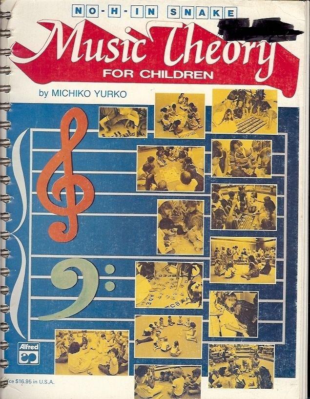 MUSIC THEORY FOR KIDS BY MICHIKO YURKO 1979