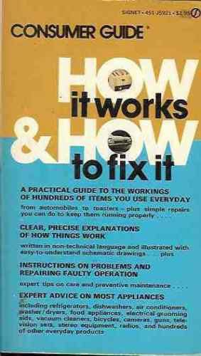 HOW IT WORKS & HOW TO FIX IT CONSUMER GUIDE  1974