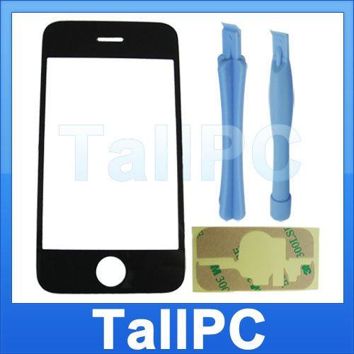 Iphone 3G Outer glass cover lens + tool adhesive kit US
