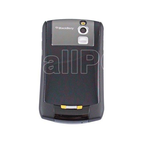 For BlackBerry Curve 8300 Full Housing Case Cover Black