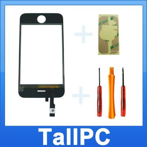 NEW Iphone 3GS touch Screen Digitizer +4TL Sticker USA