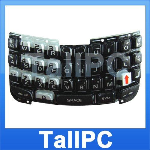 for Blackberry 8300 8310 8320 8330 Keypad Black US