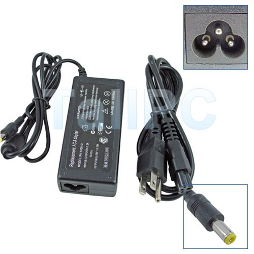 New Gateway Solo 1100 2100 2150 5100 AC Adapter Charger