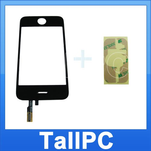 5 PCS Iphone 3GS Digitizer touch Screen + Adhesive Tape