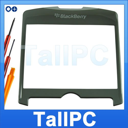 Blackberry 8300 8310 8320 Black LCD Lens Glass US +tool