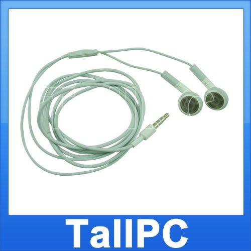 New IPhone 3G Earphones Headphones w/ Microphone US