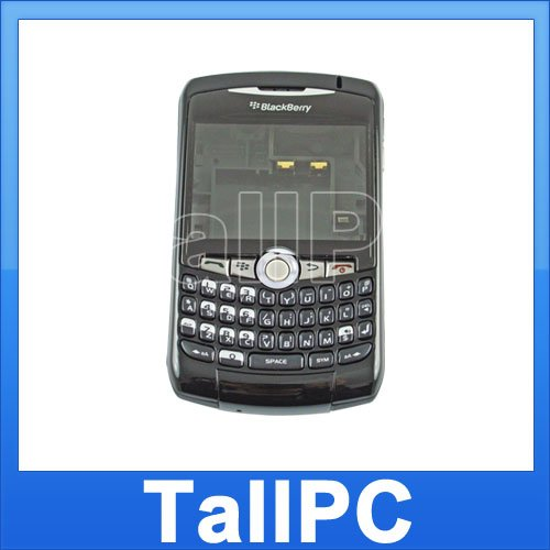 For BlackBerry Curve  8310 Housing Case Cover Black US