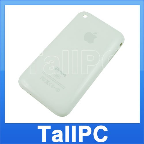 Iphone 3G Back housing Cover 8GB iphone 3G US white New