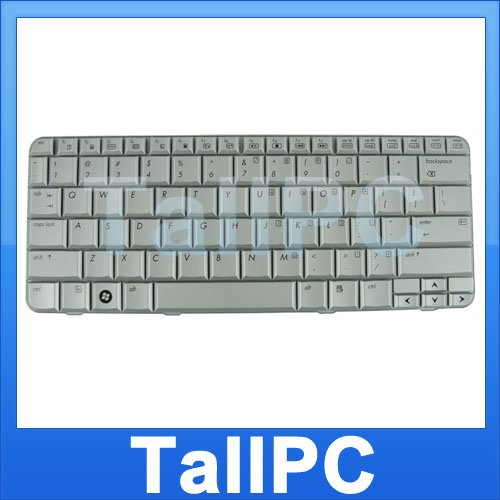 NEW HP notebook HP TX2000 keybord replacement US SILVER