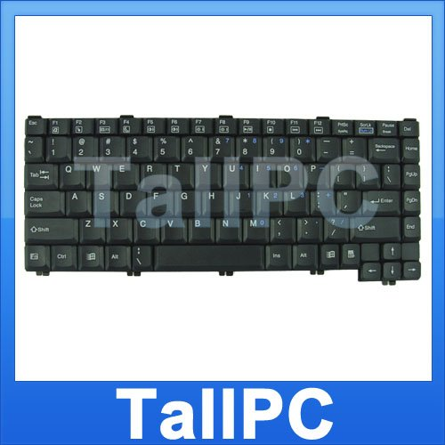 New HP Compaq Presario 1200 Series Keyboard Black US