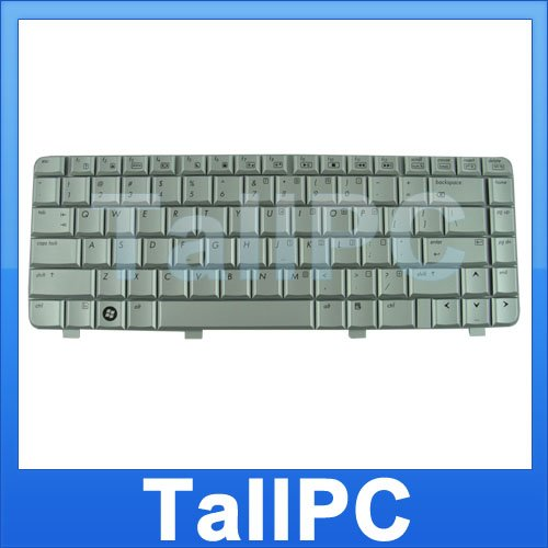 NEW HP DV2000 V3000 keyboard replacement silver US for