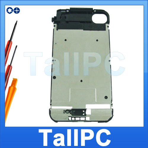 NEW IPhone 2G Metal Middle Chassis Cover lens US + tool