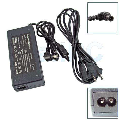 New SONY VAIO PCG-5J2L CR220E AC Adapter Power Charger