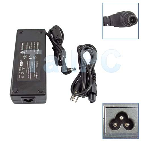 New AC Adapter Charger Sony PCGA-AC19V PCG GRS FRV Blk