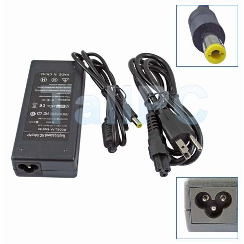 HP Compaq NX9000 NX9005 NX9010 18.5V 4.9A 90W Adapter